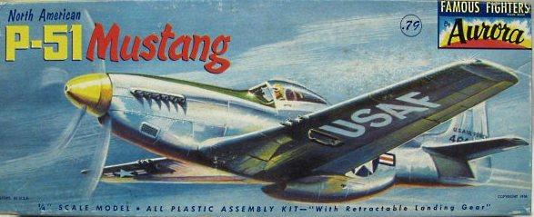Aurora 118-79 P-51gdpp