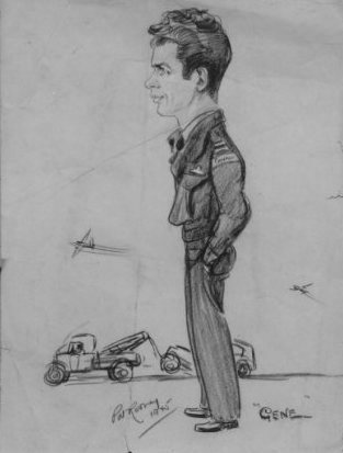 caricature d'Eugène Gagnon