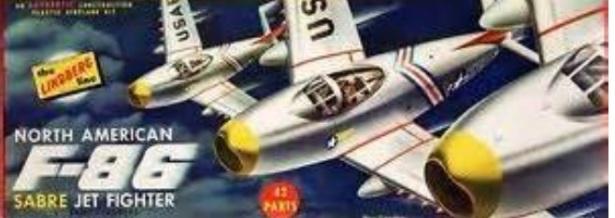 F-86 Lindberg Sabre Jet