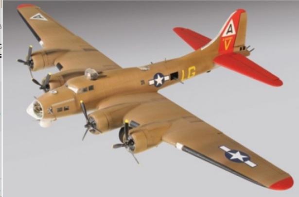 Lindberg B-17 G olive drab