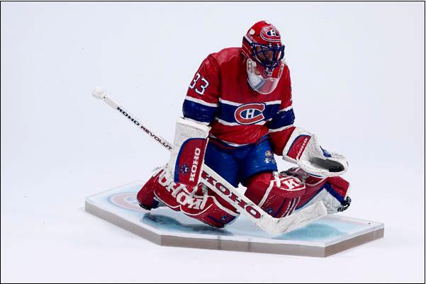 hockey player figurine