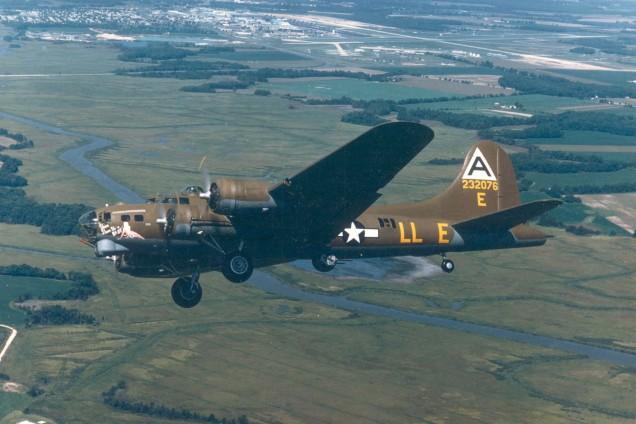 """Boeing B-17G """"Shoo Shoo Shoo Baby"""""""