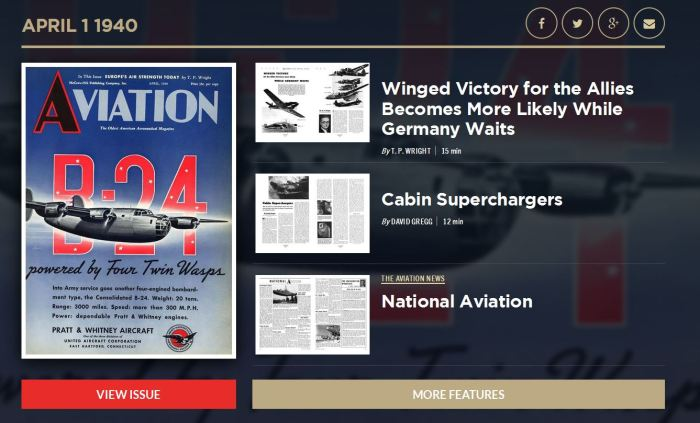 Aviation April 1940