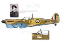 'Kay', 185 Sqn RAF Spitfire Mk Vb trop, Malta, 1942