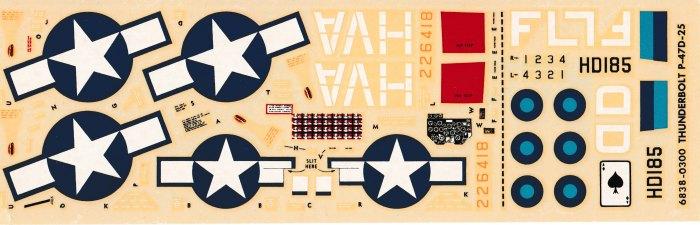 Monogram P-47D 007